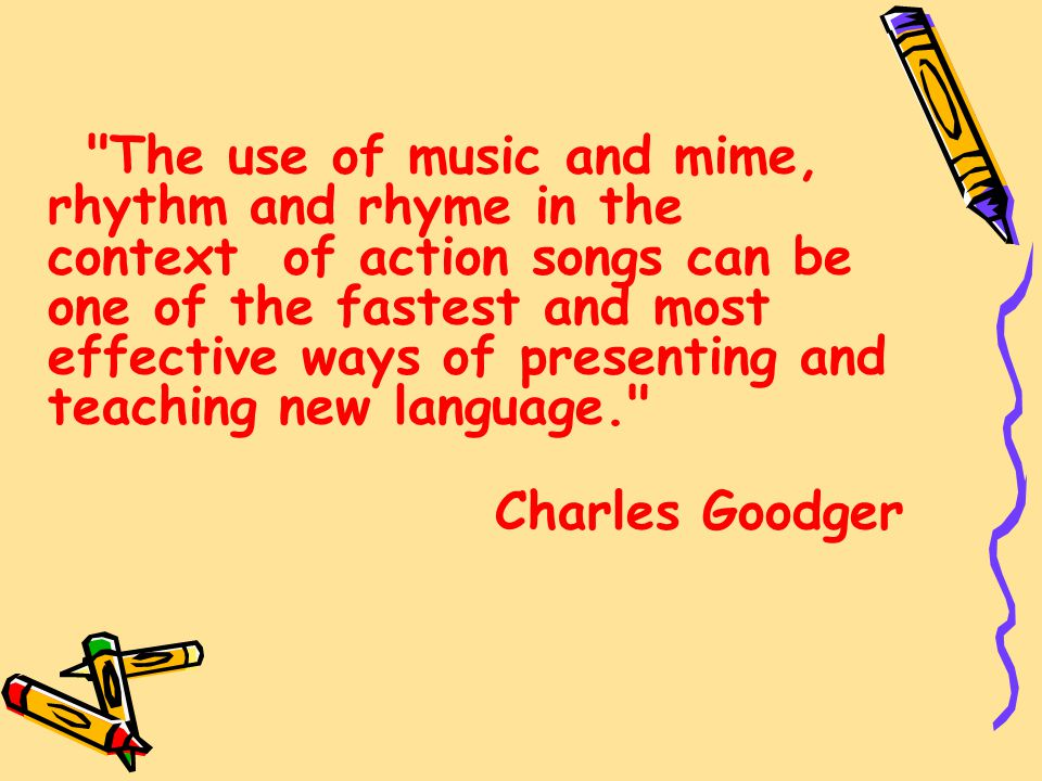 use of songs in teaching english Language arts songs that teach english grammar, punctuation, and spelling children's songs and educational music for preschool, elementary, middle and high school lyrics, mp3 downloads, dvds and cds.