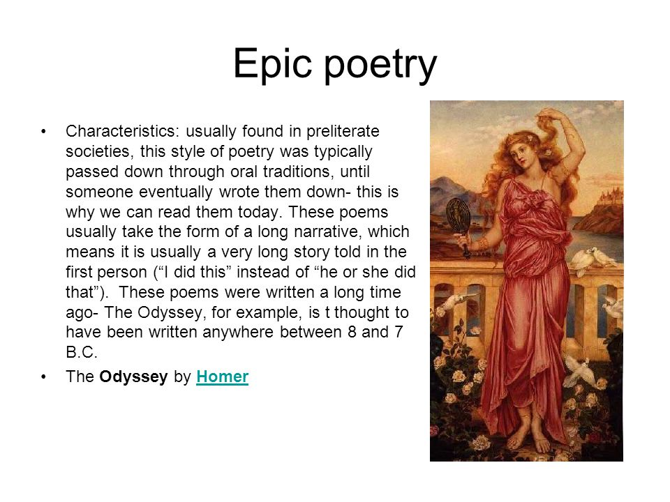 Epic poetry