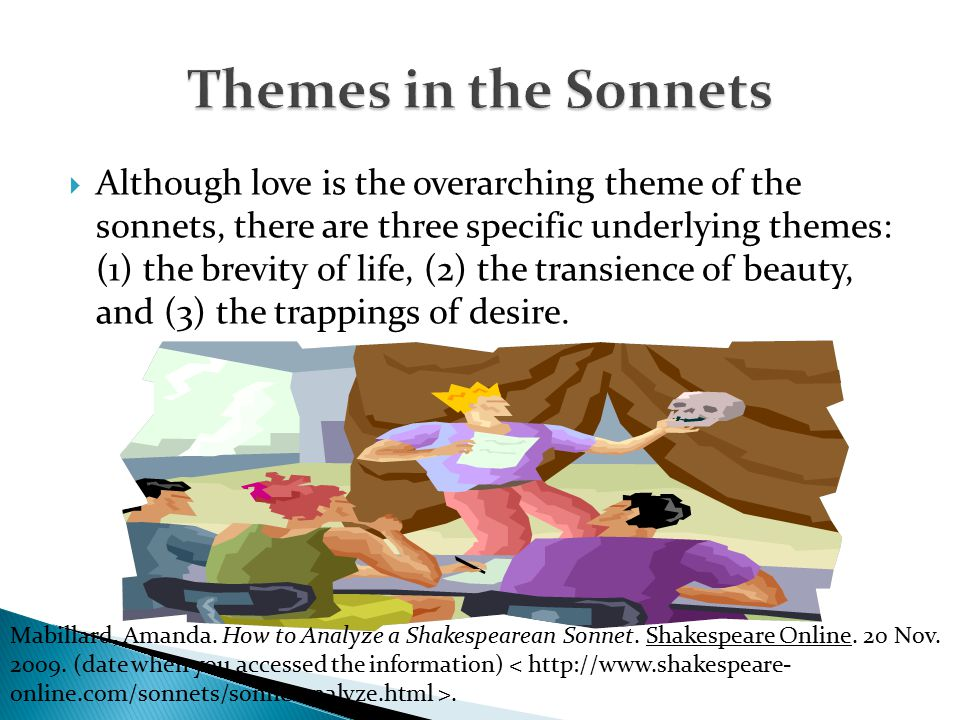 theme of love in sonnets 18 In 'romeo and juliet', this torment affects everyone: parental love becomes  distorted,  themes of lust and passion in sonnet 129, against true love in sonnet  130  sonnet 18 is often regarded as shakespeare's most renowned sonnet.