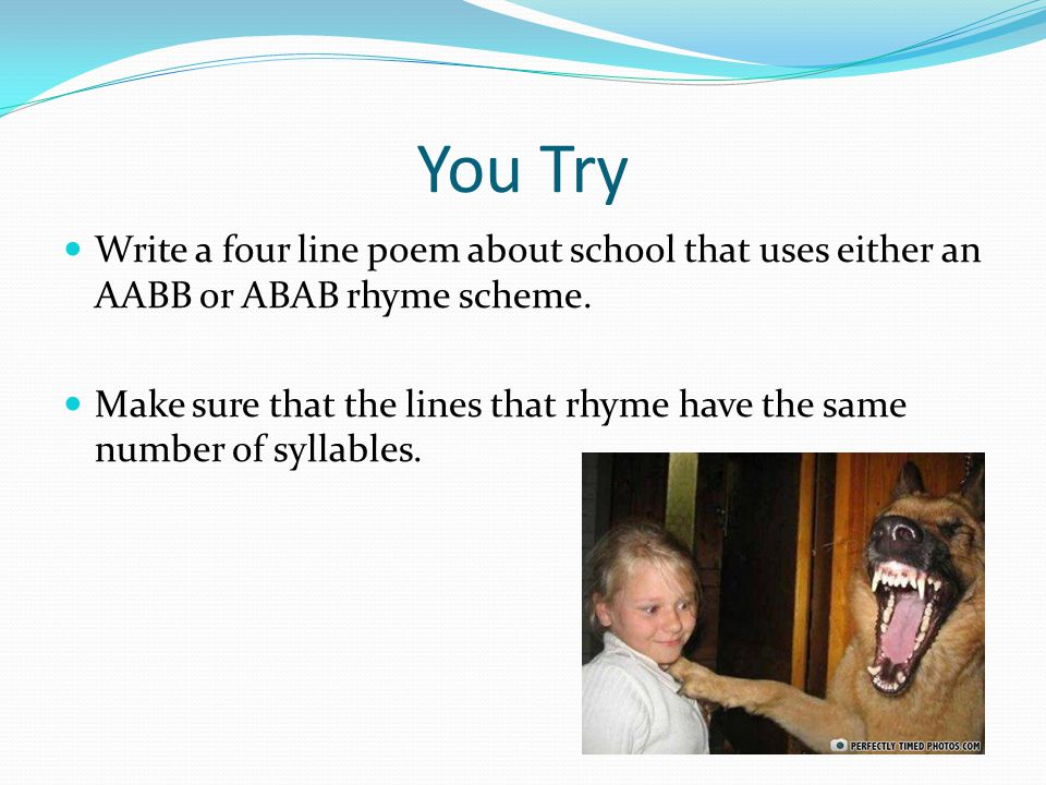What Is a Four Line Poem Called?