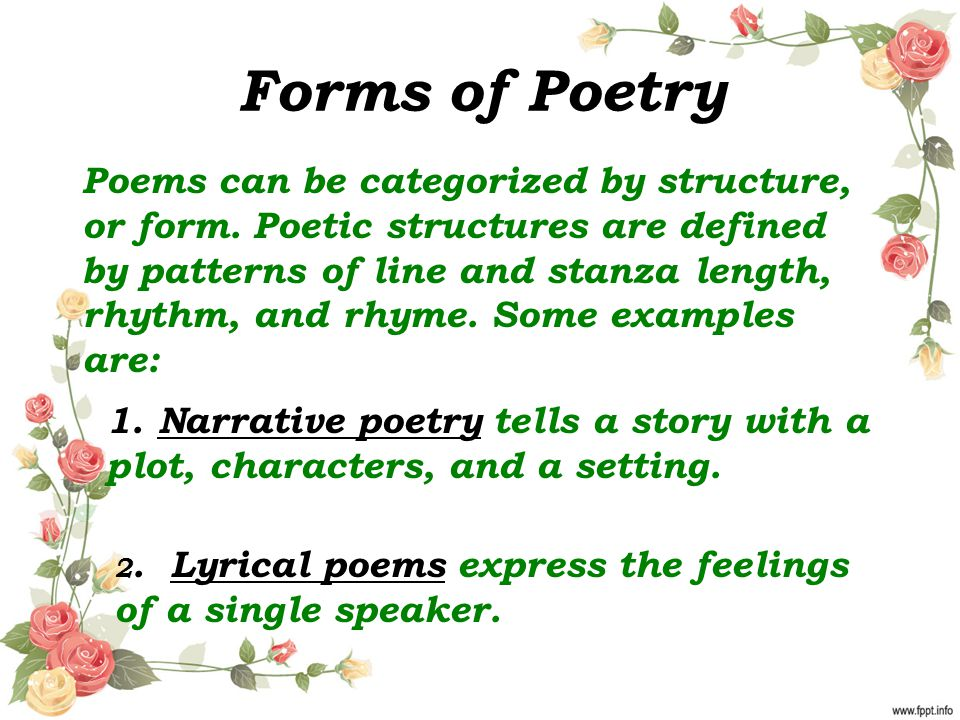 Elements of Poetry Ms. Barrow. - ppt download