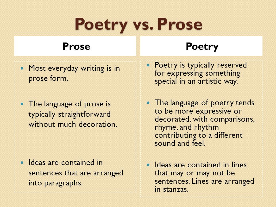 Prose Poetry Poems | Examples of Prose Poetry Poetry