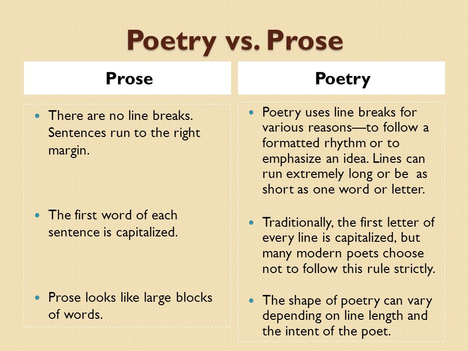 prose writing examples What are some examples of prose pieces a: prose is often said to be the most direct and effective way of communicating everyday speech through writing.