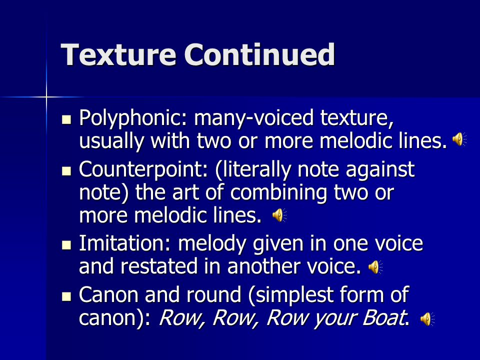 Part 1: Materials of Music - ppt download