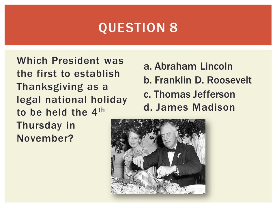 Thanksgiving Trivia Ppt Video Online Download