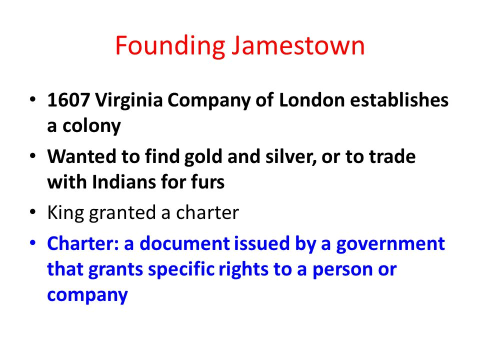 Chapter 3 Colonies Take Root Ppt Video Online Download