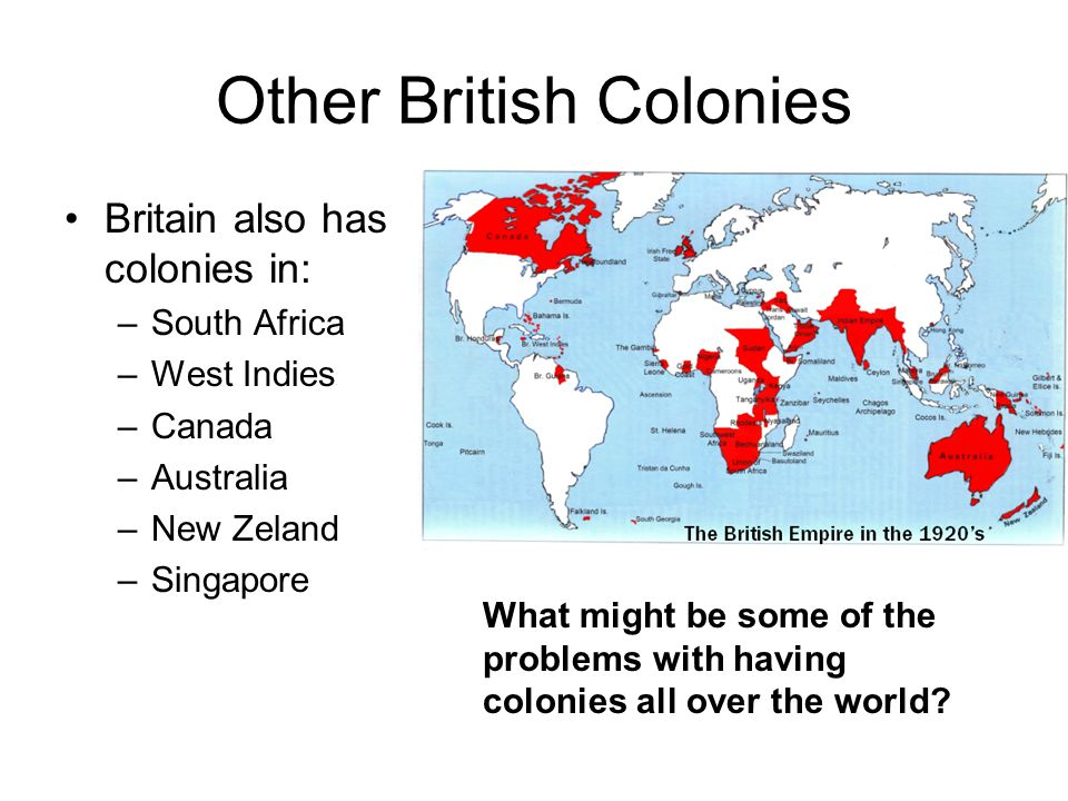 Other British Colonies