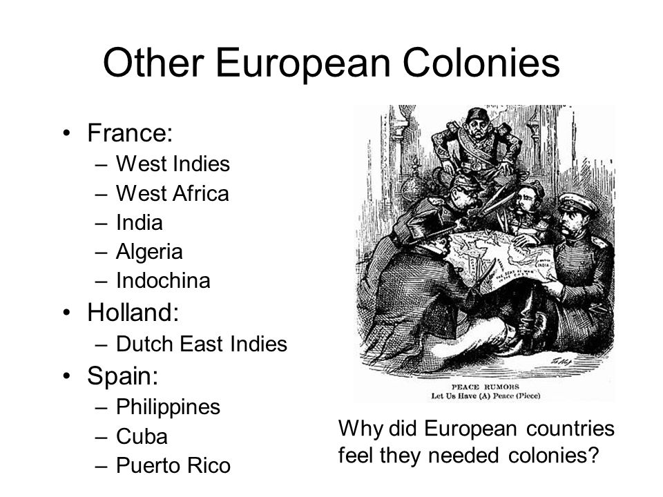Other European Colonies