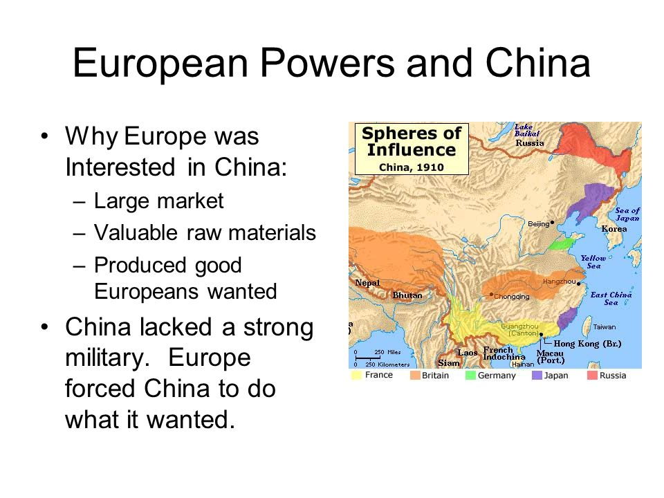 European Powers and China