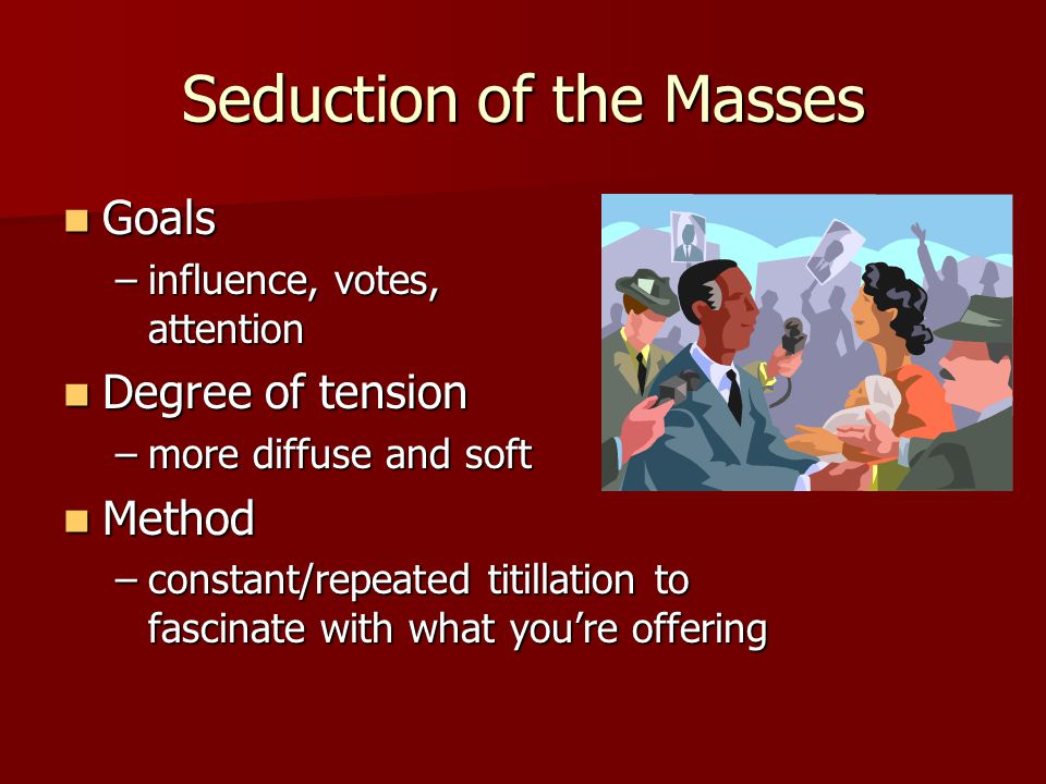 Seduction of the Masses