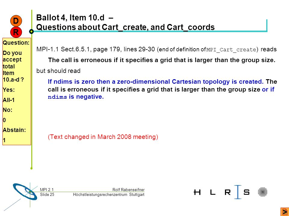 Ballot 4, Item 10.d – Questions about Cart_create, and Cart_coords