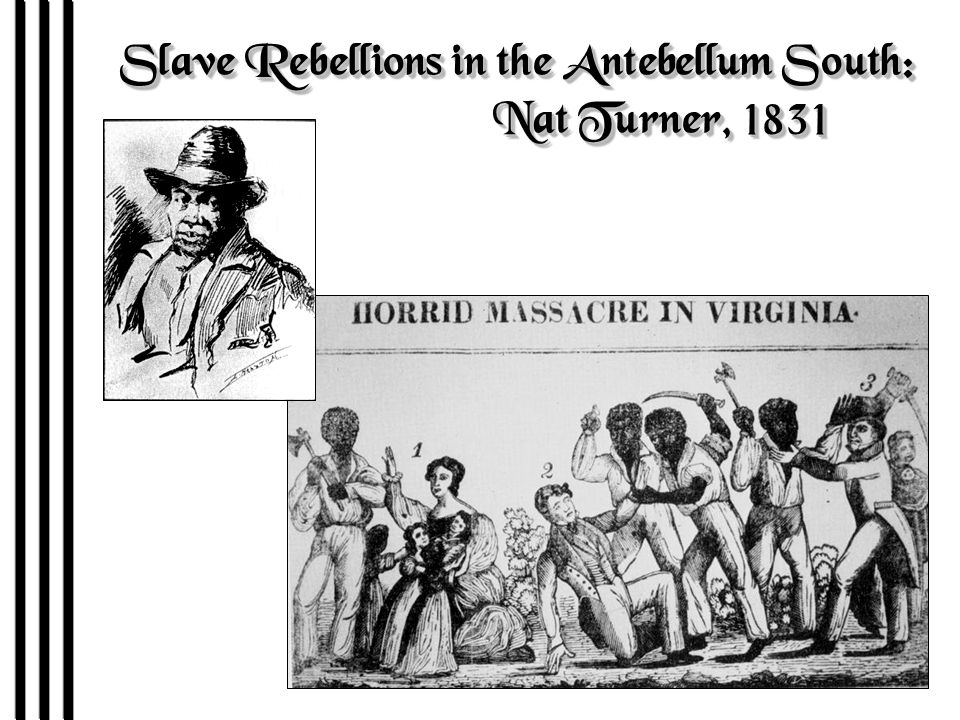 The debate over the economic advantages of slavery in the south