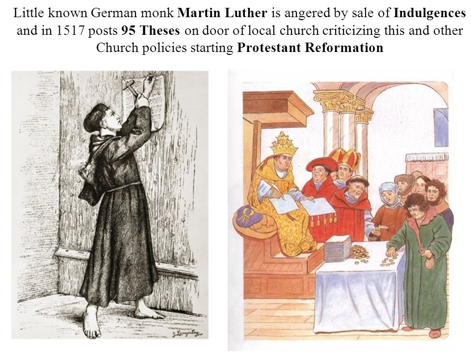 background causes of the protestant reformation ppt video online  3 little