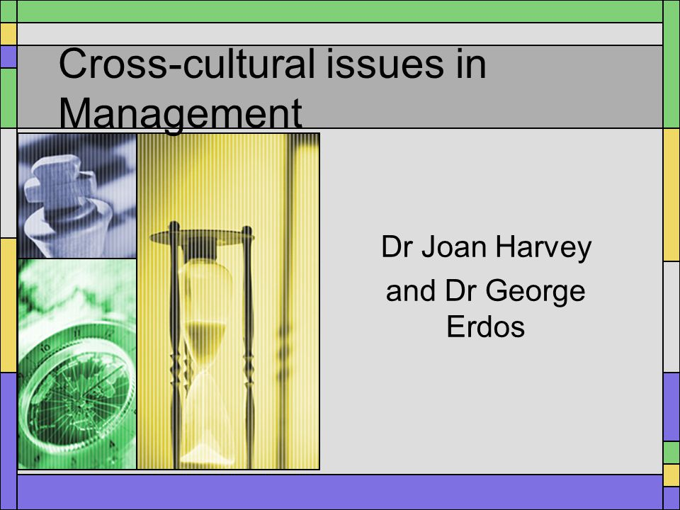 managing cross cultural issues