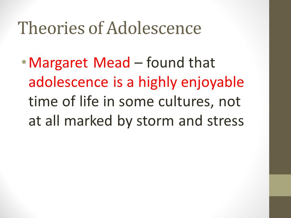 adolescence a period of stress and storm It is the period of transition in which the child changes physically, mentally and emotionally into an adult the physical and emotional changes that are part of this transitional period are so striking, that the period of adolescence has acquired a reputation as being full of storm and stress.