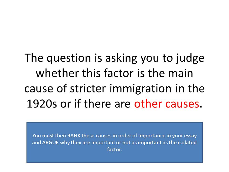 why did attitudes towards immigration change ppt video online 7 the