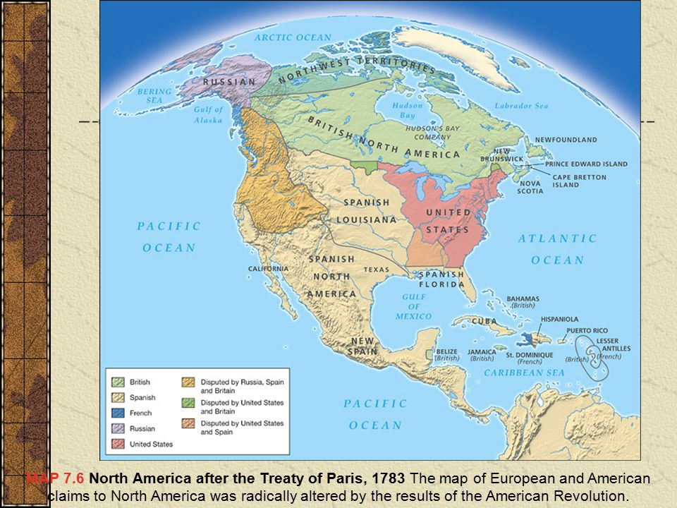 The American Revolution Ppt Video Online Download - Map of us after revolutionary war