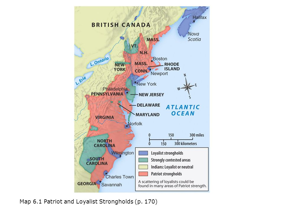 Americas History Fifth Edition Ppt Video Online Download - Map of loyalists leaving us