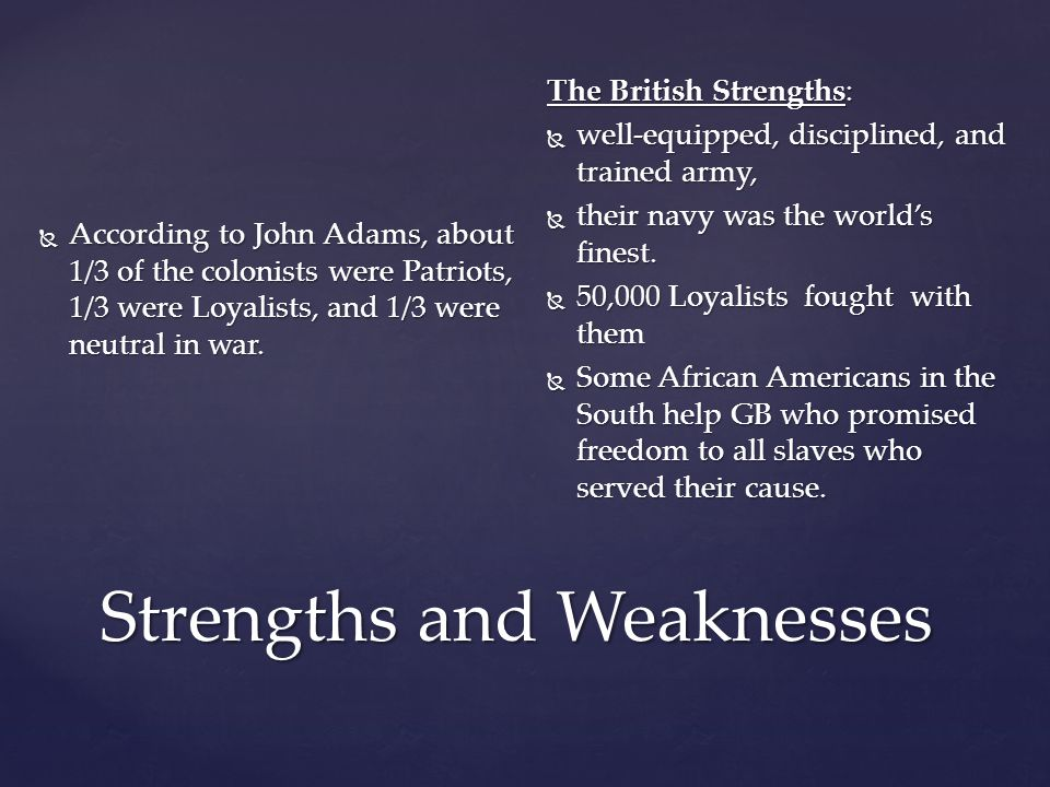 """strengths and weakness within the african american culture Strengths and weaknesses of merton's strain theory in understanding  (""""strengths and weaknesses of merton's strain  access of the african american."""