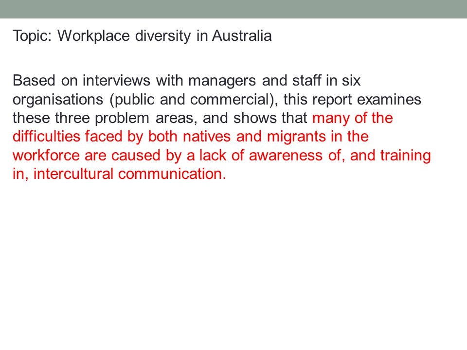 ethnic diversity in the workplace essay Diversity in the workplace essay diversity is an aspect of life that is almost inescapable, especially in the workplace as we go about our daily lives, we are surrounded by people and cultures that differ from what was once considered the typical american lifestyle.