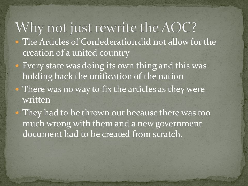 a brief history of the articles of confederation Users are reminded to check the subsequent history of any case and changes to statutes and rules of lesson title: articles of confederation writing is brief and.