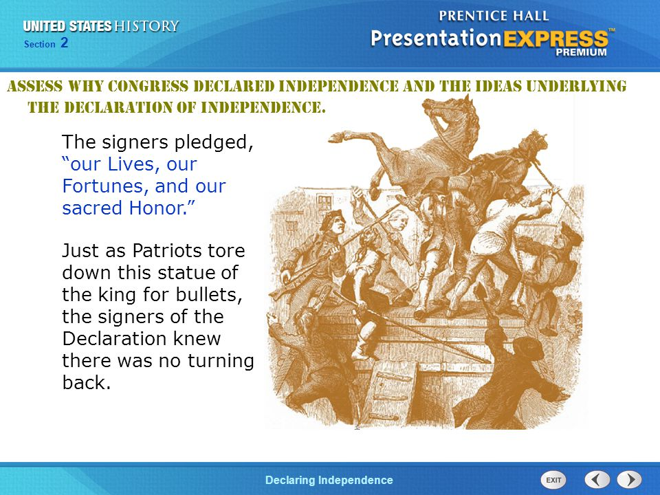 an overview of the objectives and impact of the declaration of independence in america The american revolution (1754–1781) quiz that tests what you know perfect prep for the american revolution (1754–1781) quizzes and tests you might have in school.
