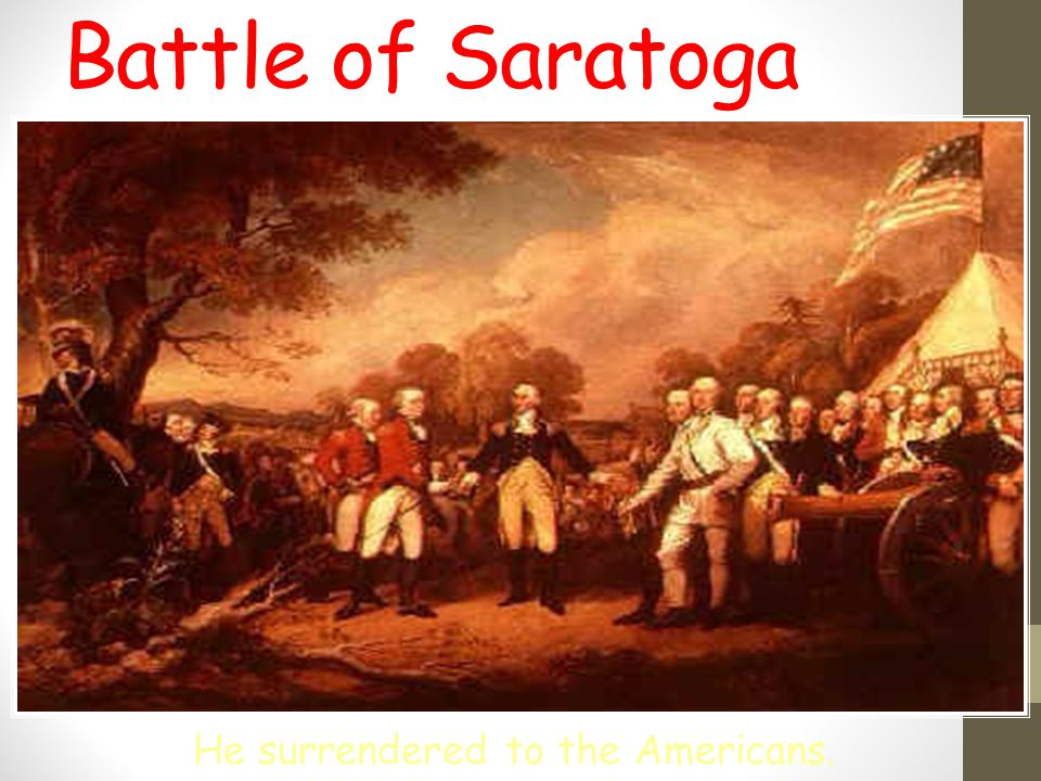 Why Was the Battle of Saratoga Important?