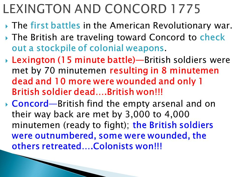 history of the american revolution what were the main causes for the war Cause and effect of the revolutionary war the american revolutionary war is also known as the american war of independence there were several causes that led.