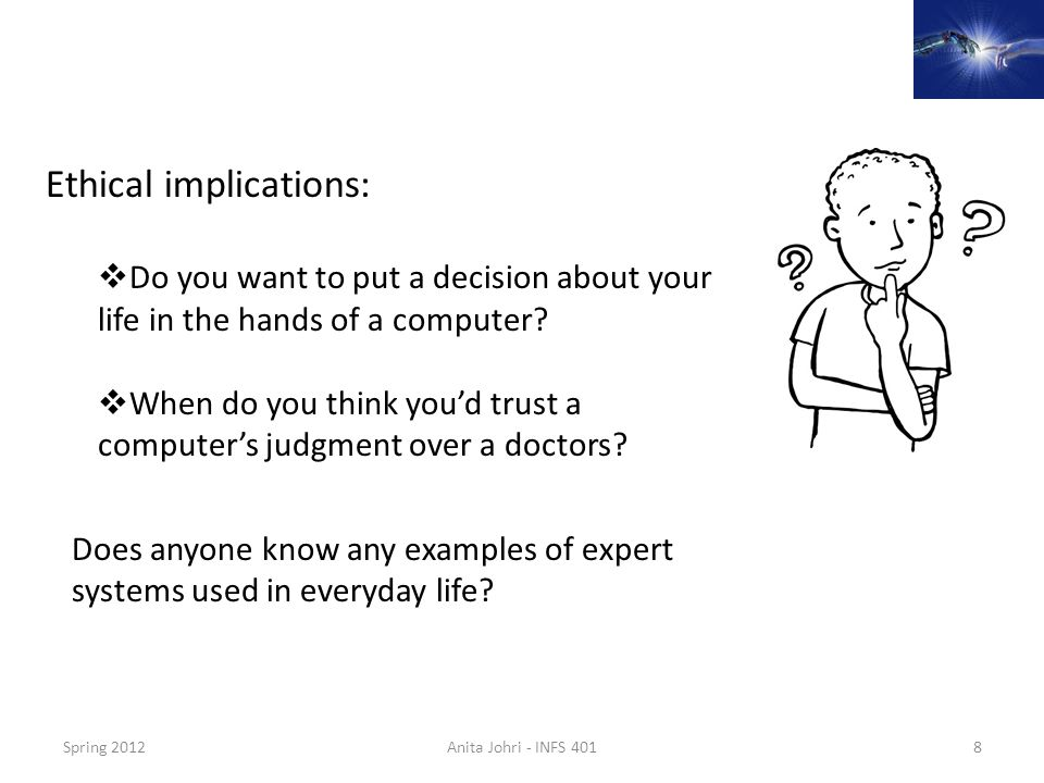 Ethical implications: