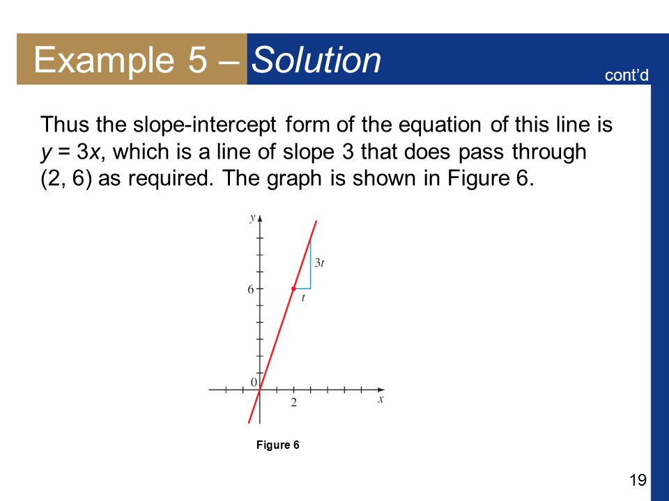 Example 5 – Solution cont'd.