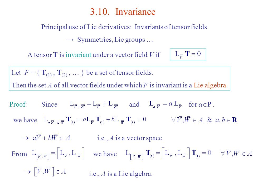 how to prove a set is invariant