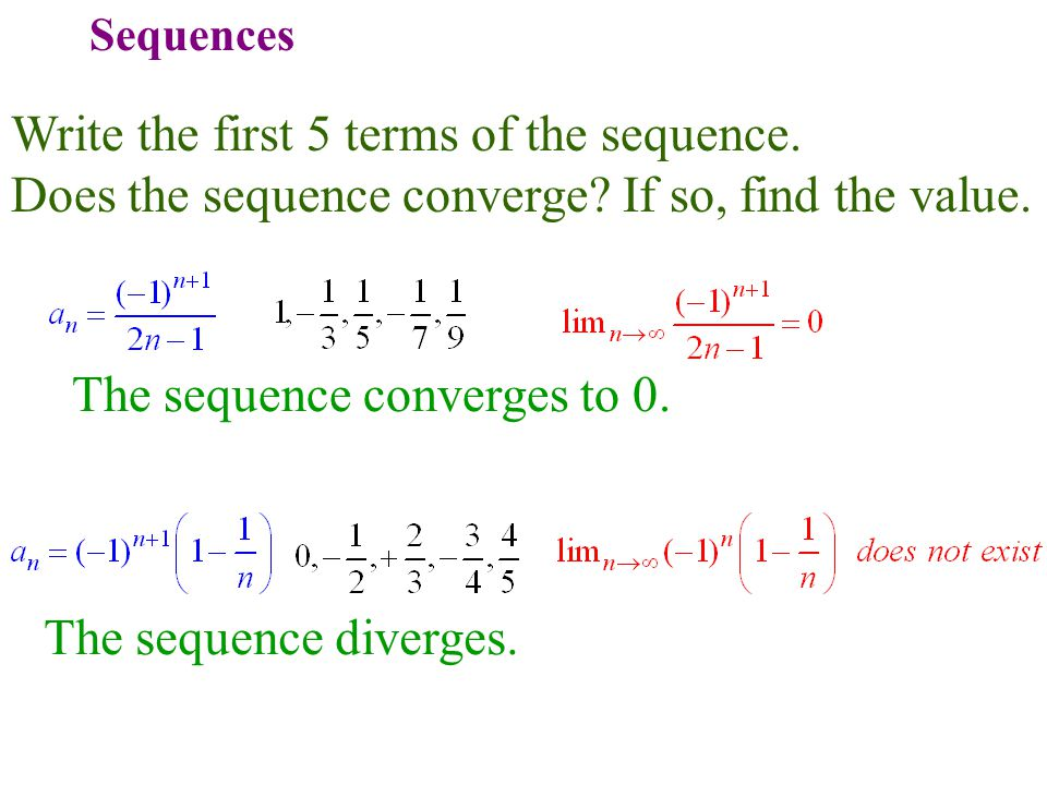 write a geometric series that converges to 5