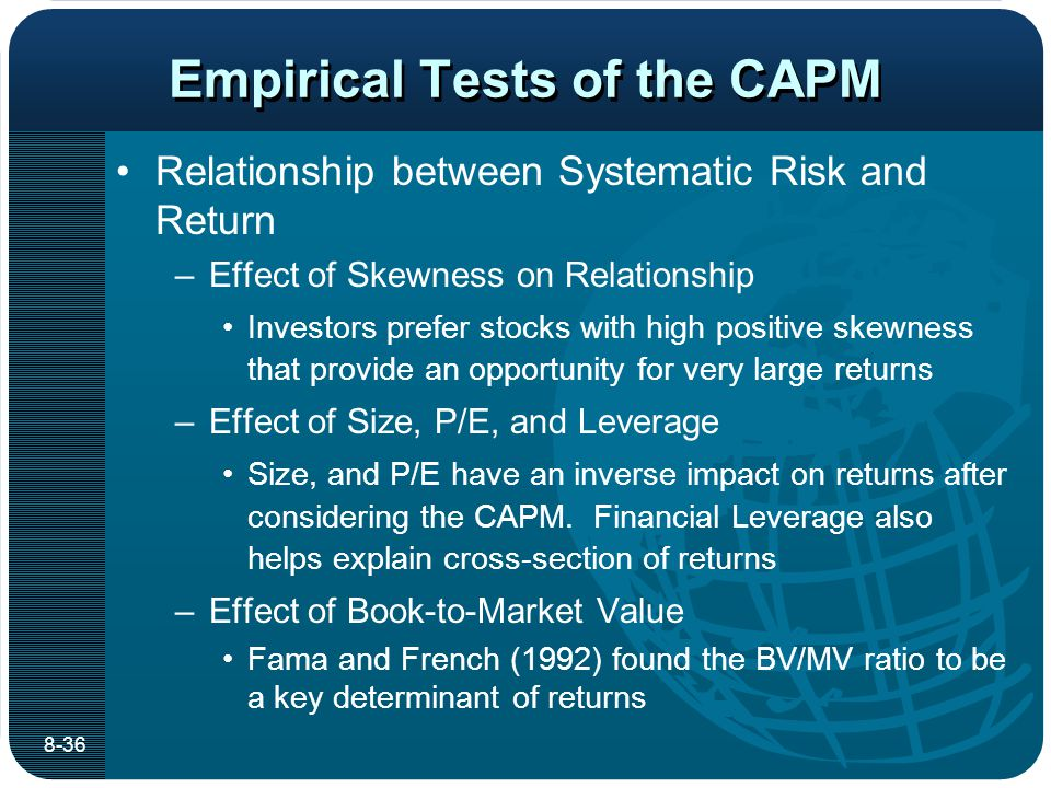 Capm Empirical Test: Non Linear Approach To The Spanish Stocke Exchange Market