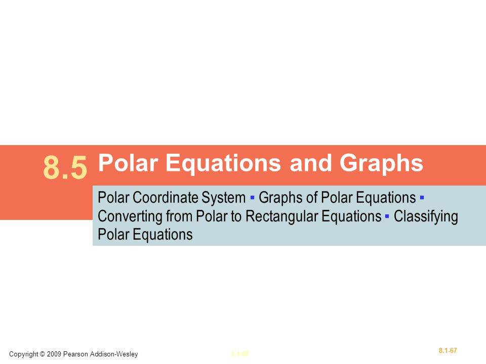 Polar Equations and Graphs