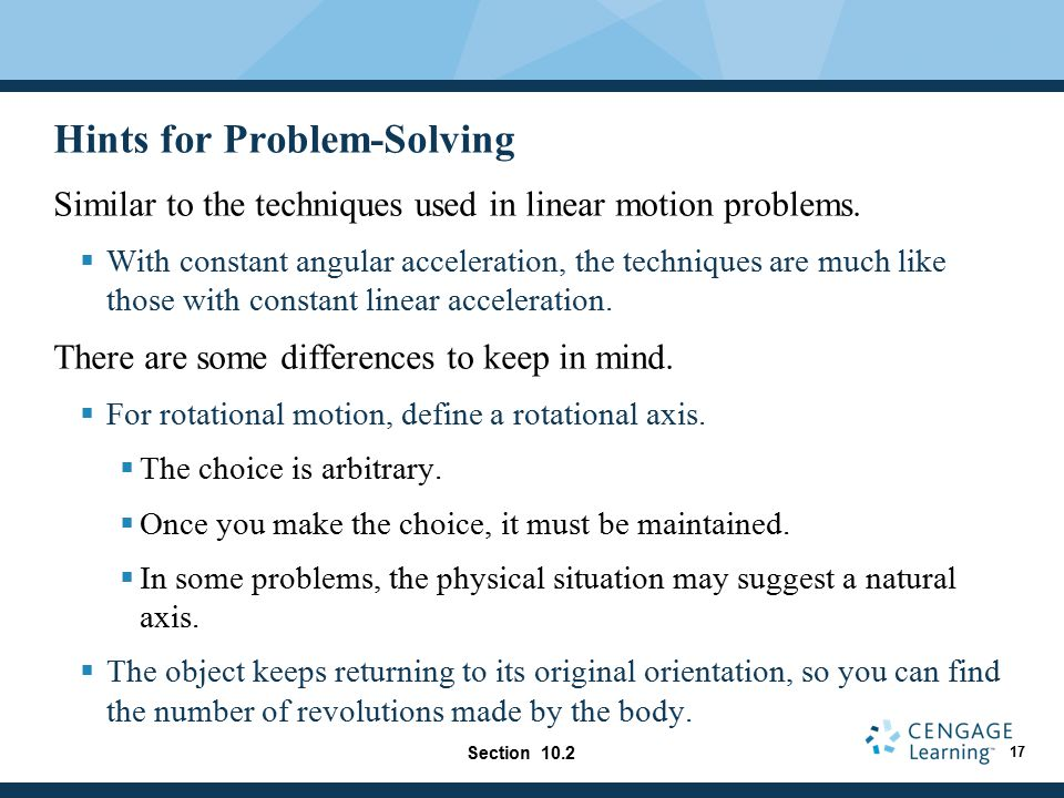 Hints for Problem-Solving