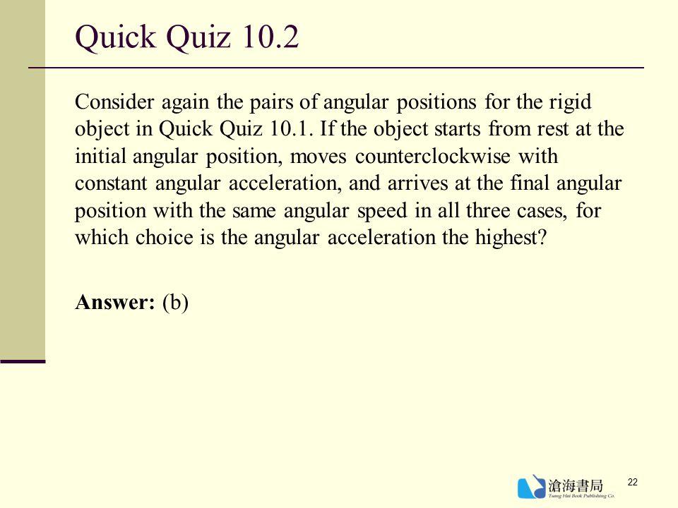 Quick Quiz 10.2