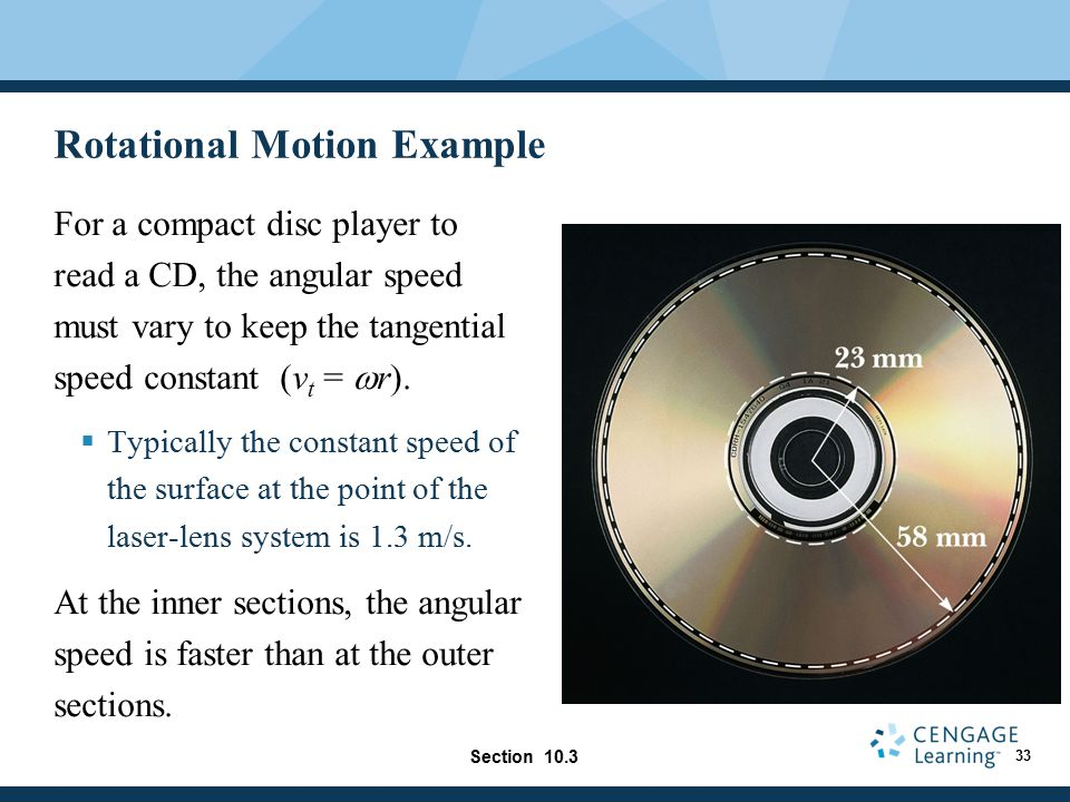 Rotational Motion Example