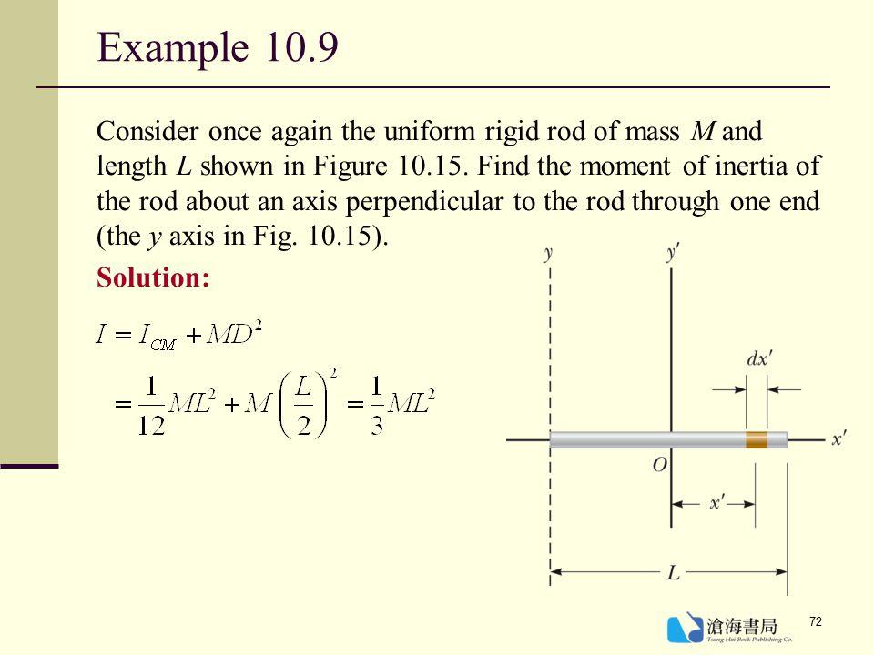 Example 10.9