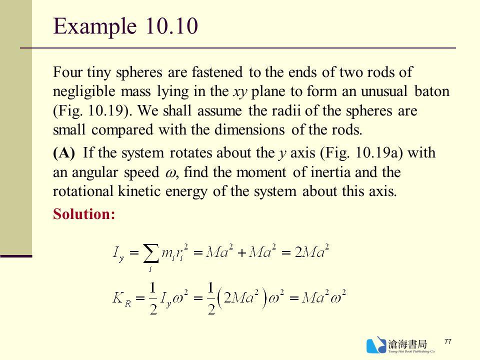 Example 10.10
