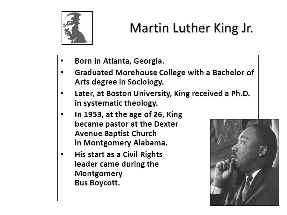 bu martin luther king scholarship essay