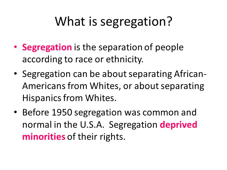 great depression review sheet due now great depression  what is segregation segregation is the separation of people according to race or ethnicity