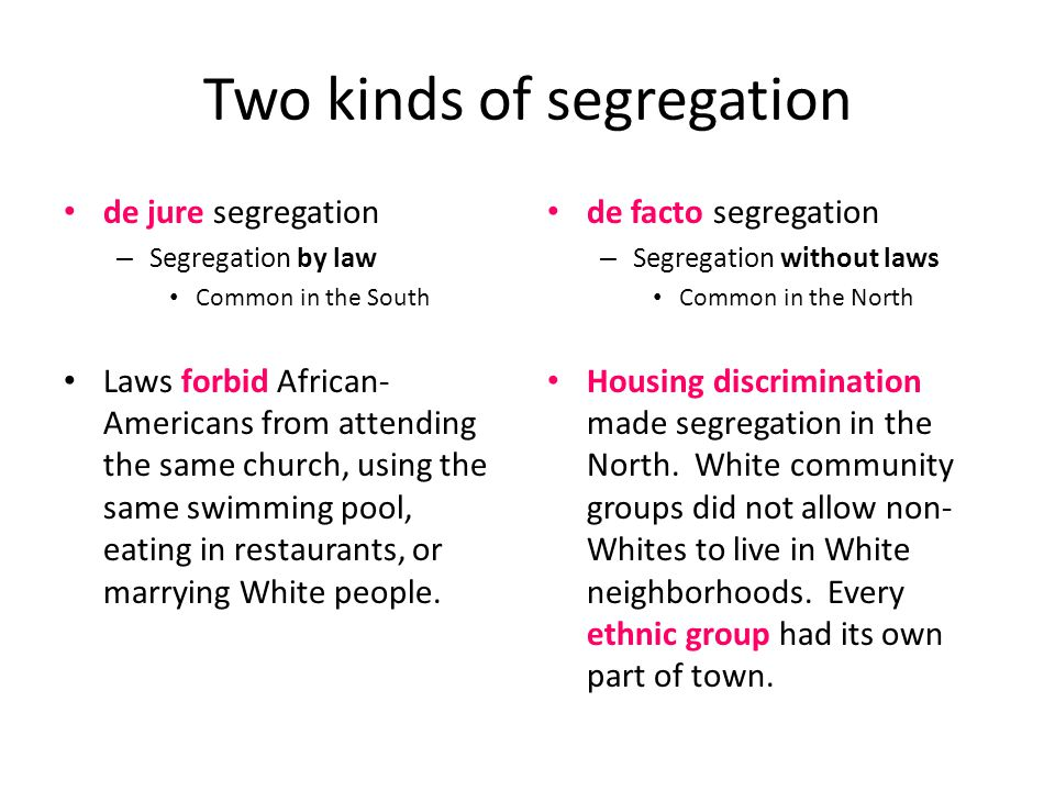 great depression review sheet due now great depression  two kinds of segregation