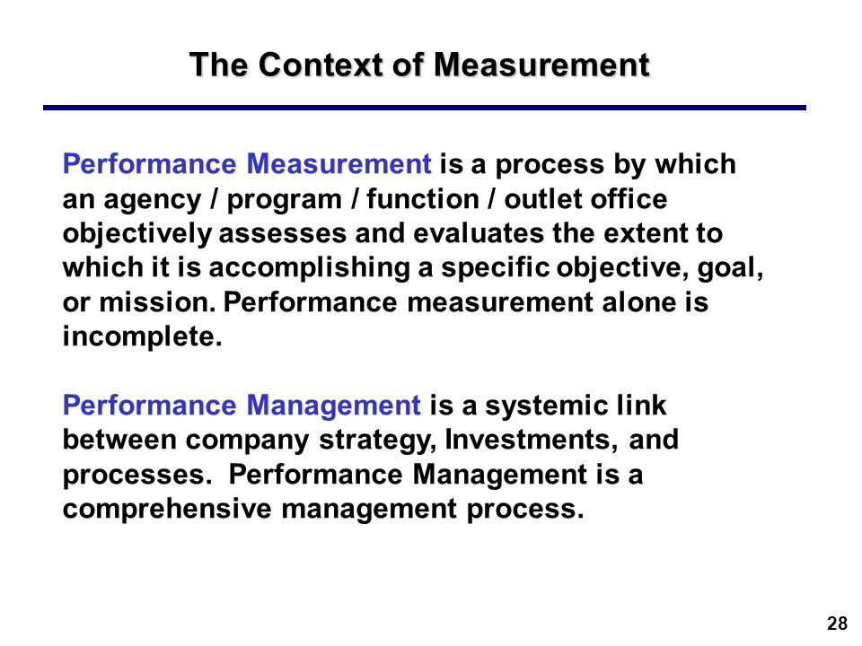 what is the role of metrics and measurement in the strategy process An extensive collection of itil key performance indicators (itil kpis) supports the introduction of a comprehensive framework for process control this includes regular quality assessments of the it service management processes itil key performance indicators (itil kpis) are used to assess if the processes of an it organization - the itil processes - are running according to expectations.