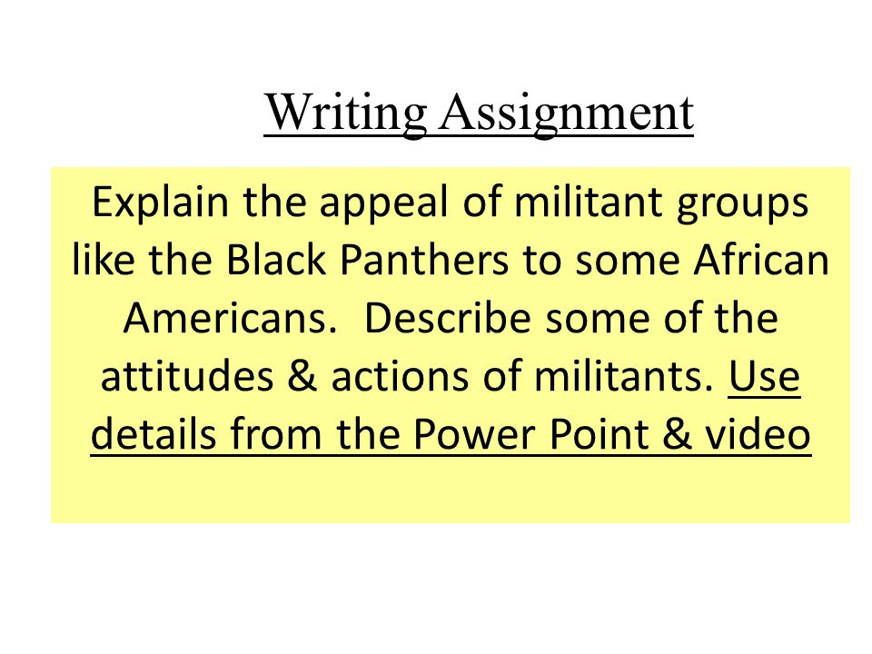 "african american civil rights assignment Lesson 3 assignment ""untold stories from the secret war and civil rights movement"" (untold stories from the african american civil rights movement: ella baker."