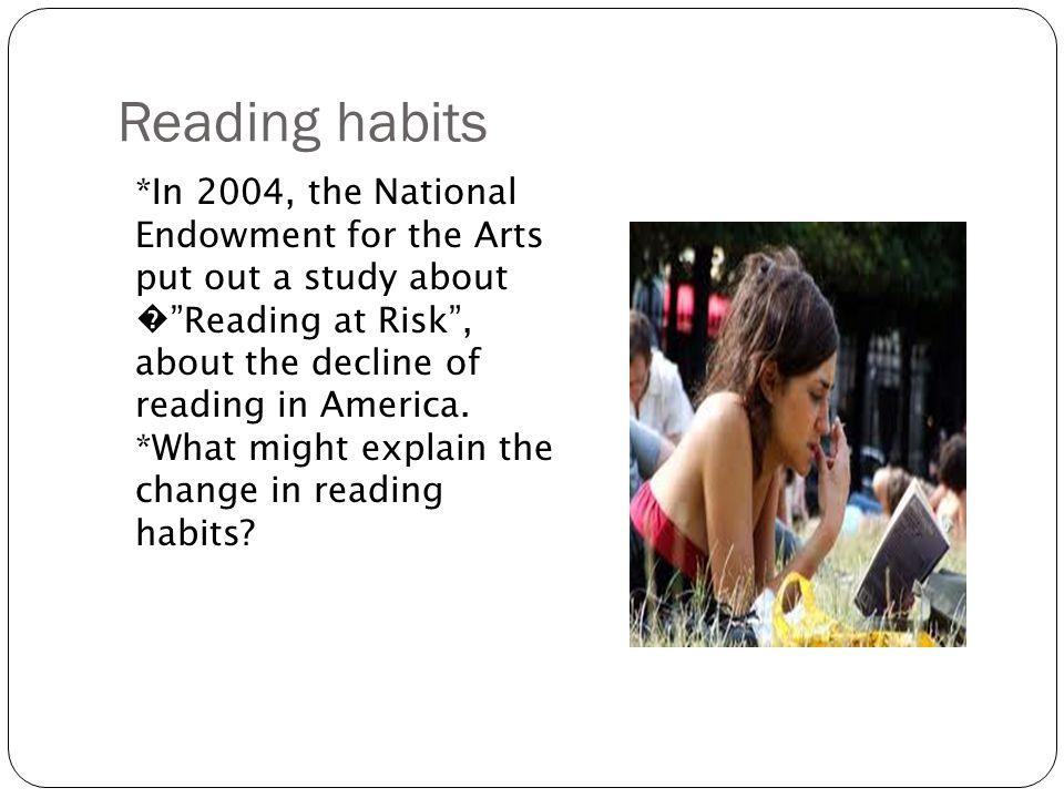 the decline of reading habit among students Ifedili (2009) examined the reading culture among students in tertiary institutions in nigeria the major findings affirmed that there was a high decline rate in the reading culture among the students in the tertiary institution 60%.