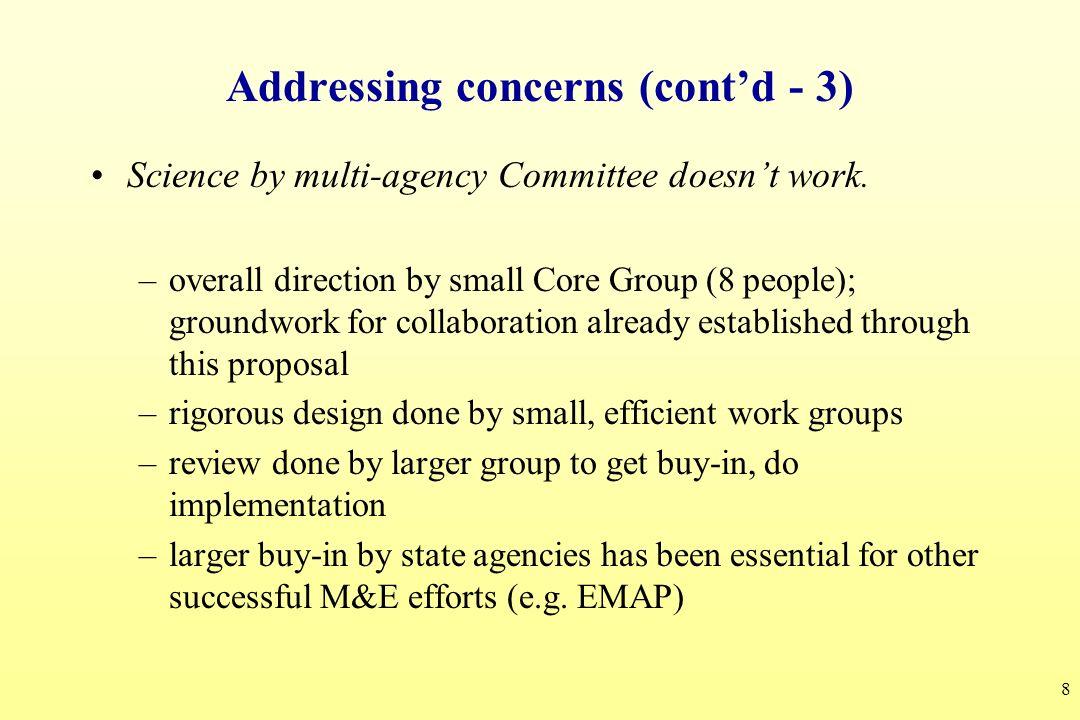Addressing concerns (cont'd - 3)