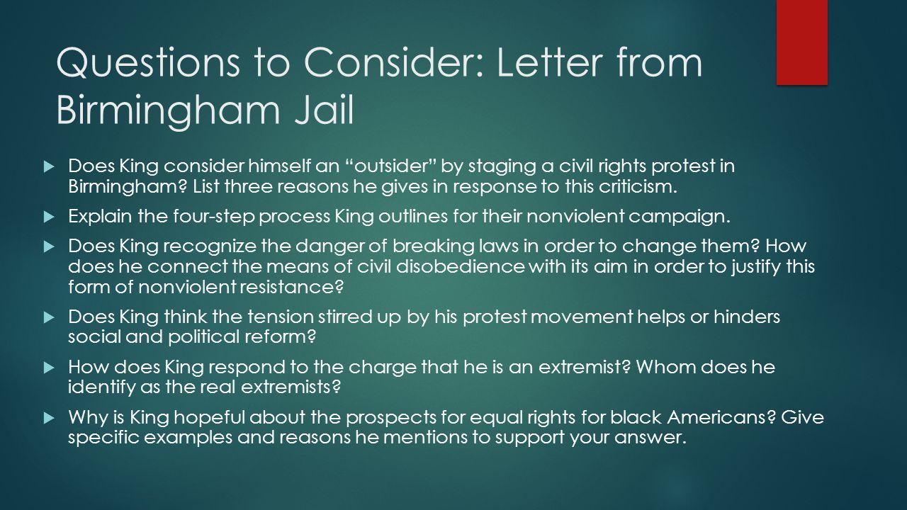 birmingham jail speech