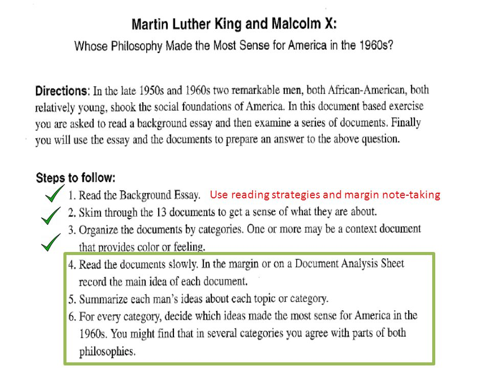 Reading Response: Malcolm X Essay