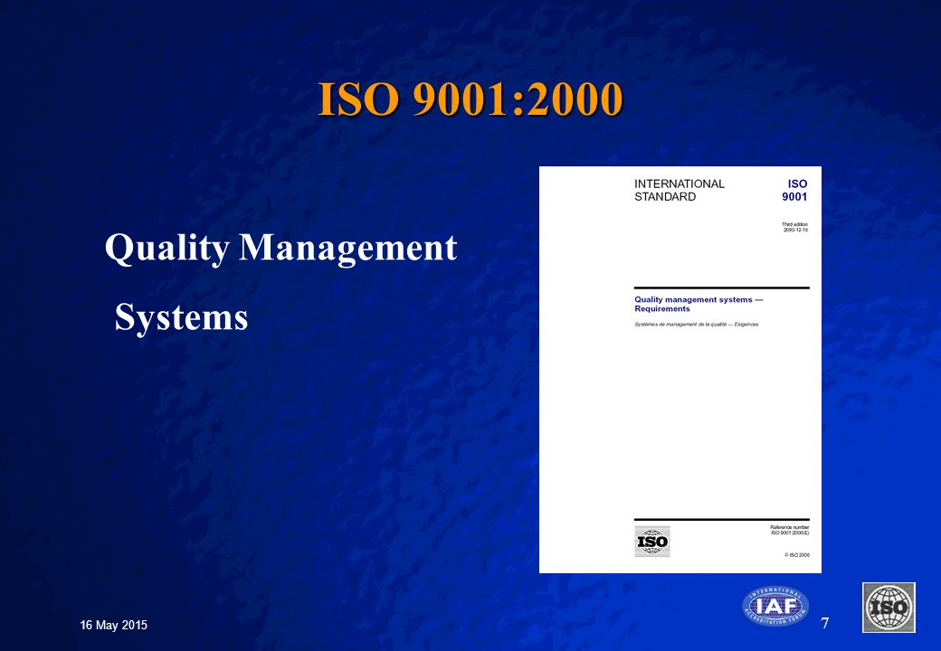 Quality Management System Seetharam Quality Assurance