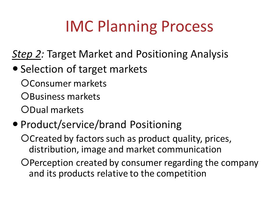 Target market selection and positioning strategy essay
